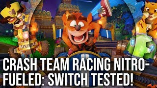 Crash Team Racing Nitro-Fueled: Switch Complete Analysis - PS4/ Xbox One X Graphics Compared!