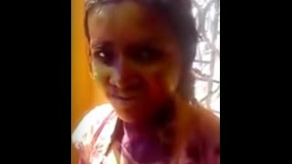 Golden Color Putai on Holi