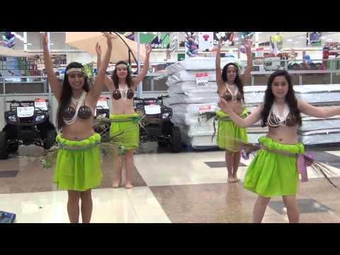 Baile Hawaiano en Plaza Soriana de Querétaro 5
