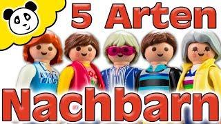 Playmobil Familie - 5 Arten von Nachbarn - Playmobil Film