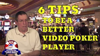 Six Tips to be a Smarter Video Poker Player - Part 1 - with Gambling Author Henry Tamburin