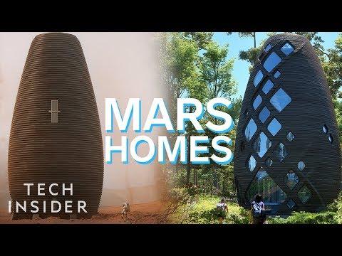 The Mars Homes That NASA Awarded 500k