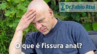O que é fissura anal? - Por Dr. Fabio Atui 04/01/2016