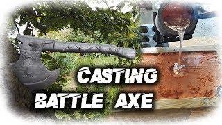 Aluminum Battle Axe Casting