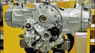 BMW R 1200 GS Boxer Engine Production