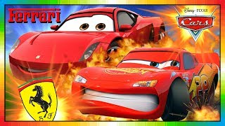 CARS Movie ★ CARS Full Movie ★★ FERRARI GIOVANNI ★★ ENGLISH ★ only mini Movie, Cars 3 comes 2017