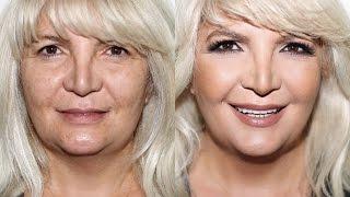 My Mom Gets a Makeover | Mature Skin Makeup Tutorial