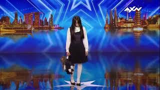 Chica Asusta En Asia Tiene Talento Show