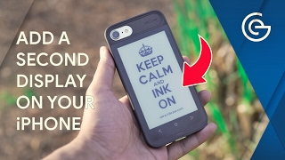 Add a Second Display on your iPhone !