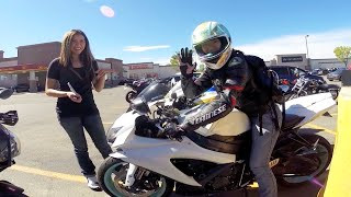 Summer Motorcycle Ride, Girls riding Motorcycles, Canada