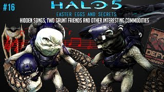 Easter Eggs and secrets of Halo 5: Hidden songs, Two Grunt friends, and more #16