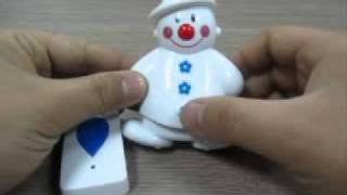 Snowman Wireless Remote Control Doorbell-25 Pieces Of Electronic Songs (#400-085)