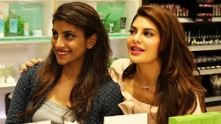 Jacqueline Fernandez on what cosmetics, fragrances to buy
