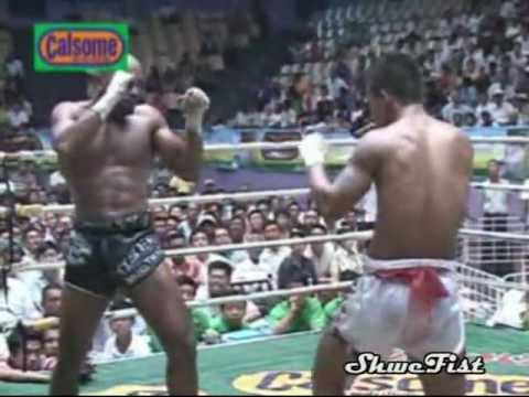 Saw Shark Myanmar Lethwei vs. Cyrus Washington USA