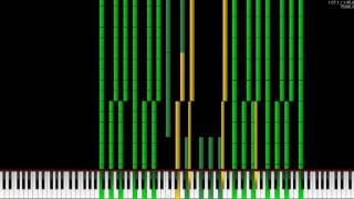 [Black MIDI] Super Mario Bros Overworld Theme 27.1 Million | NO LAG