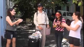 Happy en San Juan (The San Juan Math, Science and Tech Center)