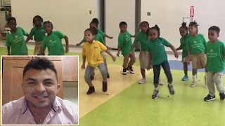 Kindergarten Teacher Reveals How His Students Have The Best Dance Moves