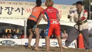 제8회대천하장사 성북구 여자씨름 3 김서현