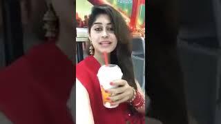 Pakistani beautiful girl talking about herself 😚😍