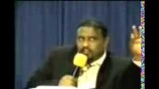 Pastor Dawit Preaching