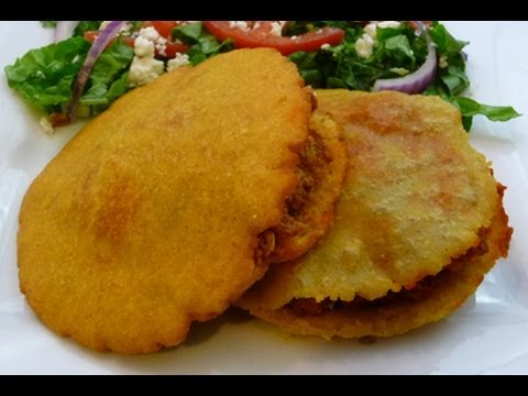 Fried (Puffed-up) Gorditas, Mexican Recipe, how to Mexican food