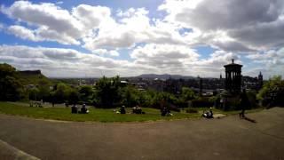 Timelapse on Edinburgh Scotland - GOPRO HERO 4 - Leonardo Bianco