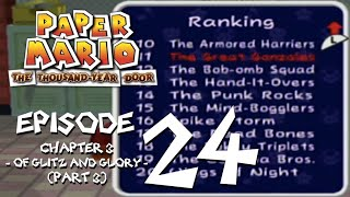 Let's Play Paper Mario: The Thousand-Year Door - Episode 24 - The Terrible Tidal Tile of...TERROR!