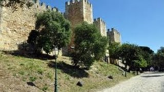 Portugal Lisbonne  découverte du chateau Royal Saint-Georges