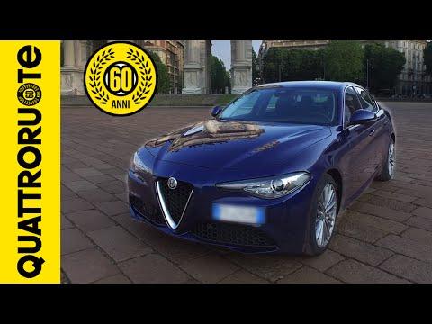 Alfa Romeo Giulia 2.2 180 CV 2016 Test Drive Exclusive Premiere
