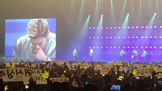 20151024 Big Bang MADE Tour in Macau - Happy Birthday to T O P & dance