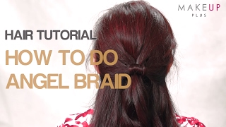 How to Do Angel Wings Half Updo Hair | Cute Girls Hairstyles | Angel Angel Braid Hairstyle