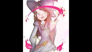 Little Witch Academia Speedpaint-Akko