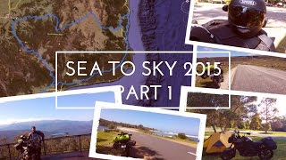 Sea to Sky by Motorcycle - Part 1