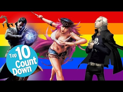 Xxx Mp4 Top 10 LGBT Characters In Video Games 3gp Sex