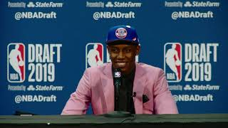 RJ Barrett Press Conference | 2019 NBA Draft