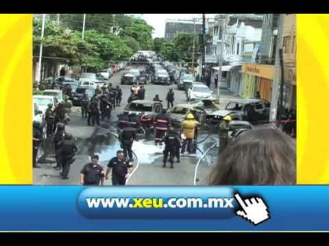 Resultados de la Balacera en Veracruz XEU Noticias 1