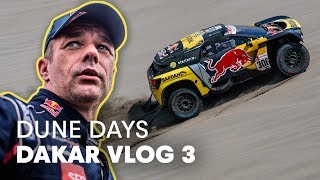 Sebastien Loeb Smashes His Wheel To Pieces Then Wins a Stage | Dakar Rally 2019