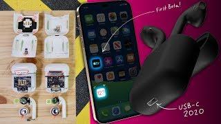 AirPods 2 Water Test & Teardown, iOS 12.3 & USB-C Everything 2020!