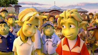 Planet 51 The Game Movie All Cutscenes