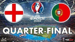 PES 2016 - EURO 2016 - Quarter-final - England v Portugal