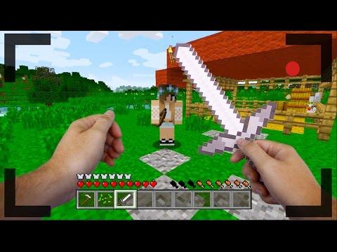 Realistic Minecraft - THE NEW GIRL'S BIG SECRET #3