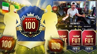 X3 TOP 100 REWARDS!!! 95 TOTS IN A PACK! FIFA 17