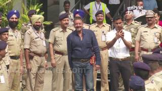 Sanjay Dutt In Mumbai After Finally Coming Out Of Jail 2016