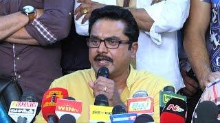 I will reveal secrets: Sarathkumar Speaks Against Vishal Team at Nadigar Sangam Election 2015