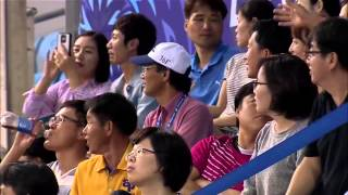 What the defence shot Liliyana Natsir in Asian Game 2014