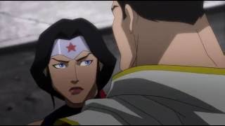 justice league vs DARKSEID full fight