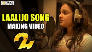 Laalijo Song Making || 24 Movie Songs || Nithya Menen, Suriya - Filmyfocus.com
