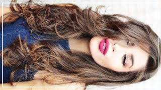 How to Curl Your Hair w/ a Flat Iron | Big Sexy Waves & Volume | Jessica Harlow Hair Tutorial
