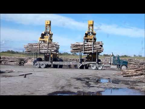 Letourneau Log Stackers