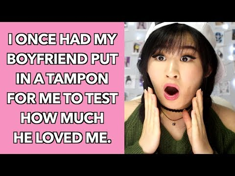 Xxx Mp4 The Most Awkward Tampon Confessions 3gp Sex